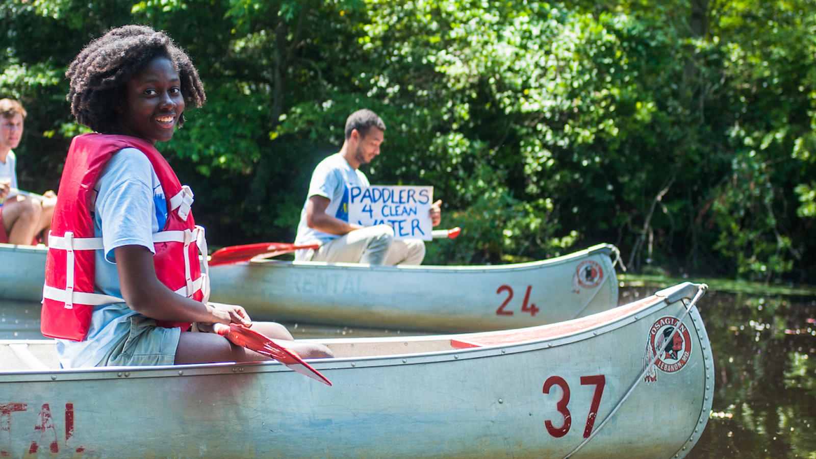 <h4>OUR WATER</h4><h5>We're defending the funding the EPA needs to keep our waters clean, protections for nearly 2 million miles of streams, and more.</h5><em>Nicholas Thomas</em>